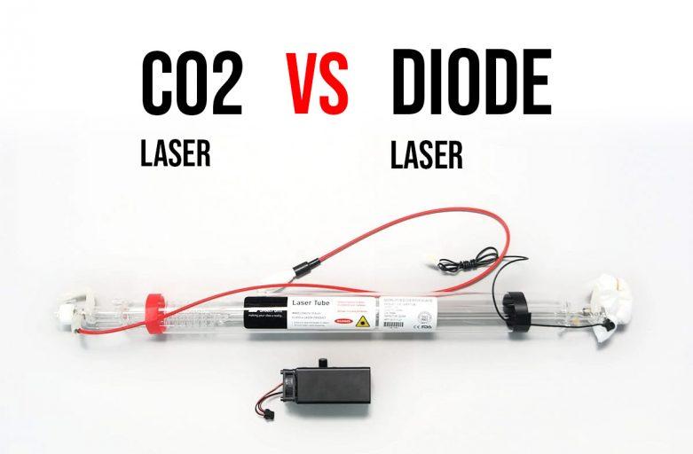 Diode เทียบกับ CO2 Laser ต่างกันอย่างไร?