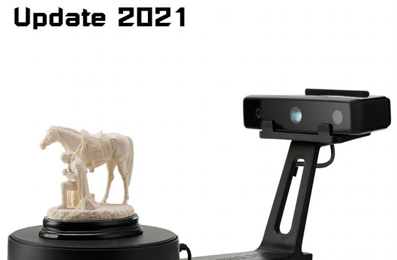 รีวิว EinScan SE สแกนเนอร์ 3มิติ บนแท่นหมุนอัตโนมัติ Update 2021!!