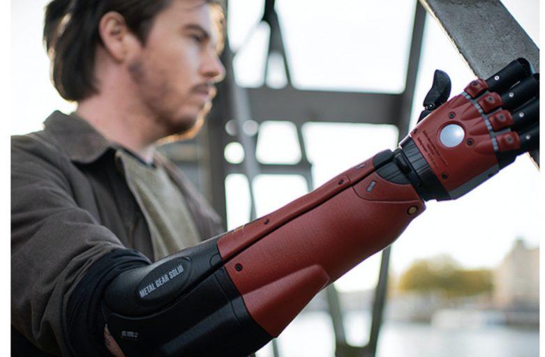 แขนกลชีวภาพ จาก 3D Printer โดย KONAMI ( Bionic arm from 3D printer by KONAMI )