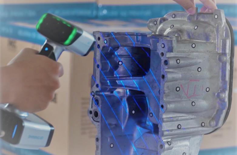 EinScanHX LaserScan Mode – โหมดสุดแม่นยำเหมาะกับงานวิศวกรรมทุกรูปแบบ