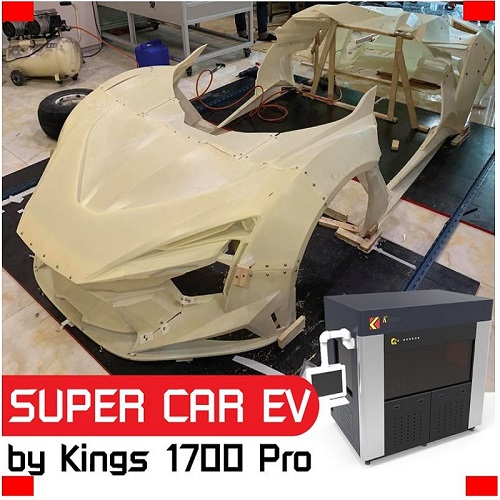 EV SUPER CAR BY AMOTRIZ สัญชาติไทยแท้ๆ ขึ้นรูปหล่อๆด้วย Kings SLA 1700 Pro