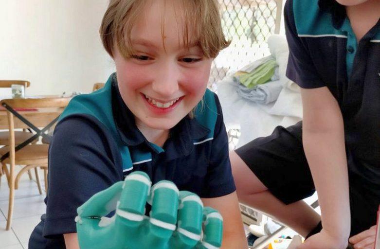 ขอแนะนำ 3D Printed Kinetic Hand Design ใหม่!