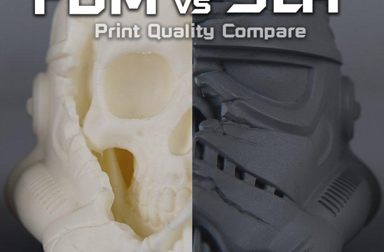 เปรียบเทียบความสวย FDM vs SLA ต่างกันขนาดไหน