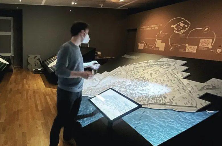 สร้างแผนผังเมืองในยุคกลางของเยอรมนี ด้วย 3D Printer SLA