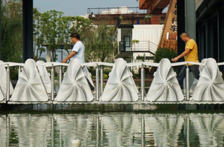 จีนพัฒนาสะพานด้วย 3D Printer ที่สามารถพับเก็บได้