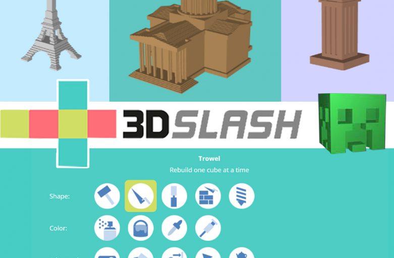 3D Slash ทางเลือกและแนวคิดใหม่ ของการสร้างไฟล์ 3D